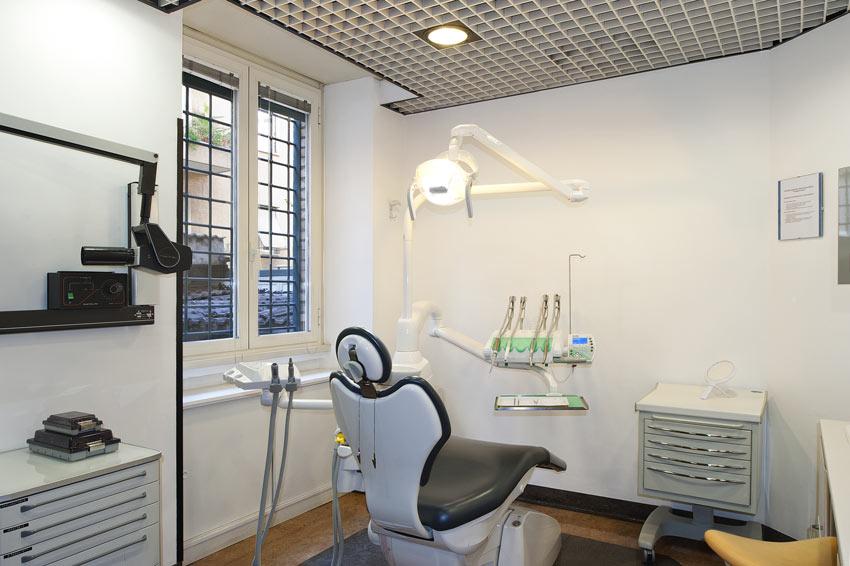 Lo studio - Protesi dentarie nei quartieri Parioli, Trieste, Tiburtino e Salario a Roma